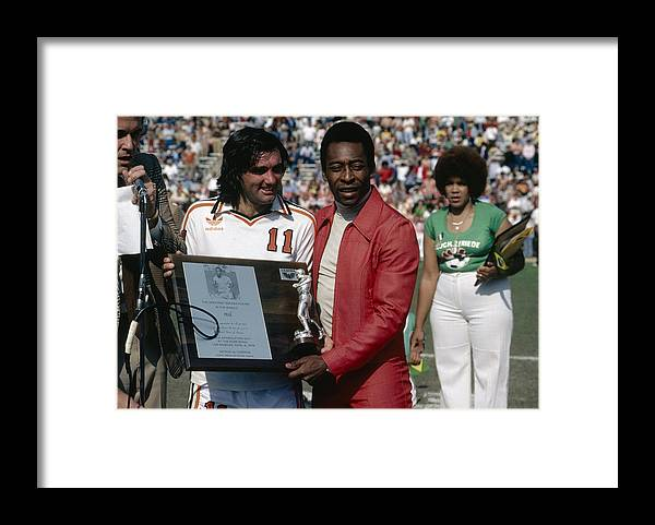 Pelé Framed Print featuring the photograph Pele Knows Best by Getty Images