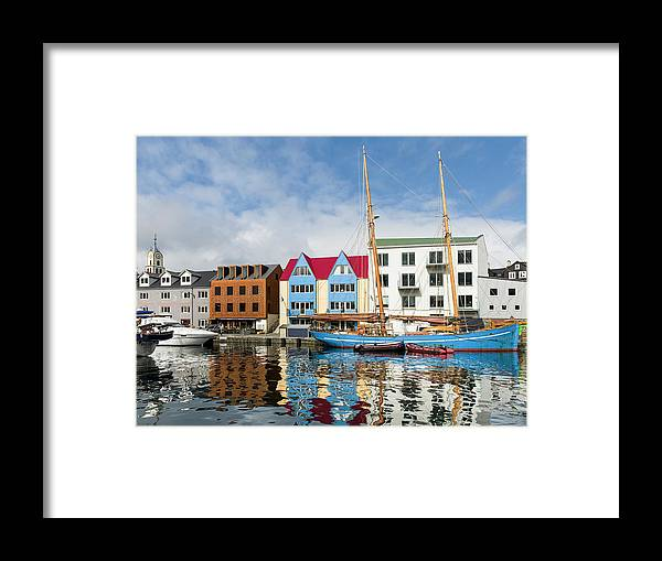 Archipelago Framed Print featuring the photograph Peninsula Tinganes With Old Town by Martin Zwick