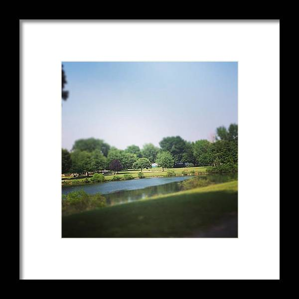 Landscape Framed Print featuring the photograph Perfect Park Afternoon by Christy Beckwith