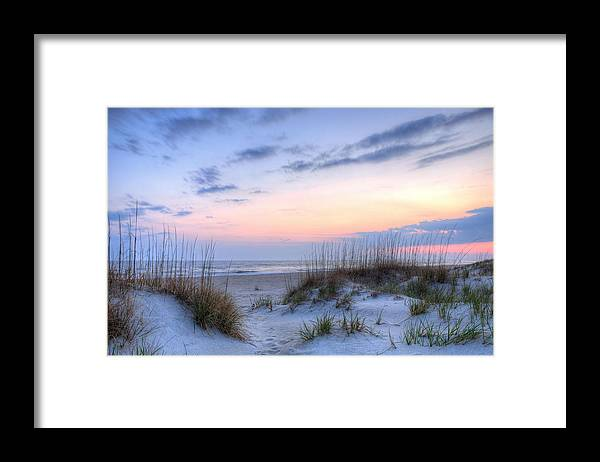 Caswell Beach Framed Print featuring the photograph Perfect Skies by JC Findley