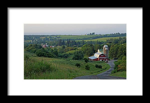 Perryville Cazenovia July Afternoon Framed Print featuring the photograph Perryville July by John  Kennedy
