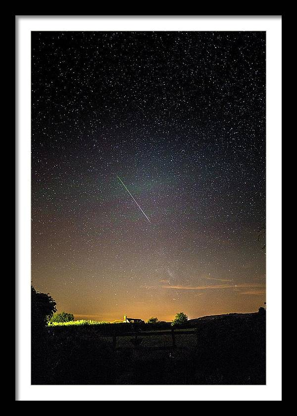 Perseid Meteor Trail 2015 by Chris Madeley