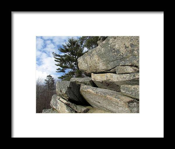 Bowdish Framed Print featuring the photograph Perspective by Lili Feinstein