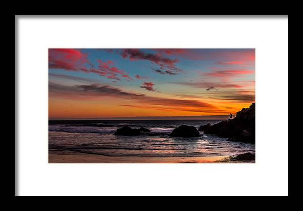 Pfeiffer Beach Framed Print featuring the photograph Pfeiffer Beach by Chakravarthy Kotaru