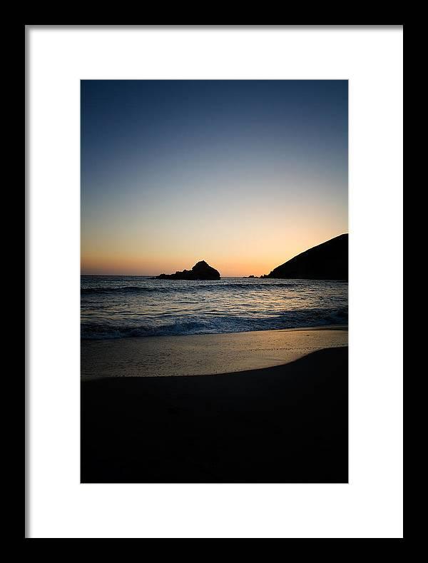 Pfeiffer Beach Framed Print featuring the photograph Pfeiffer Beach by Kunal Ghate