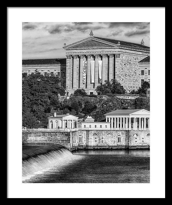 Philadelphia Museum of Art BW by Susan Candelario