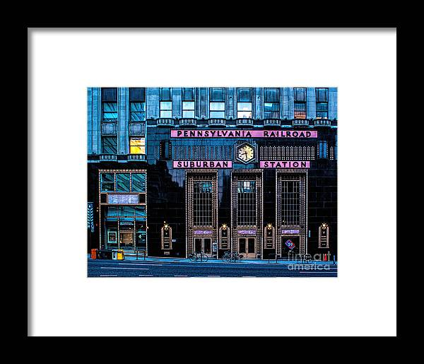 Suburban Framed Print featuring the photograph Philadelphia Suburban Station by Nick Zelinsky