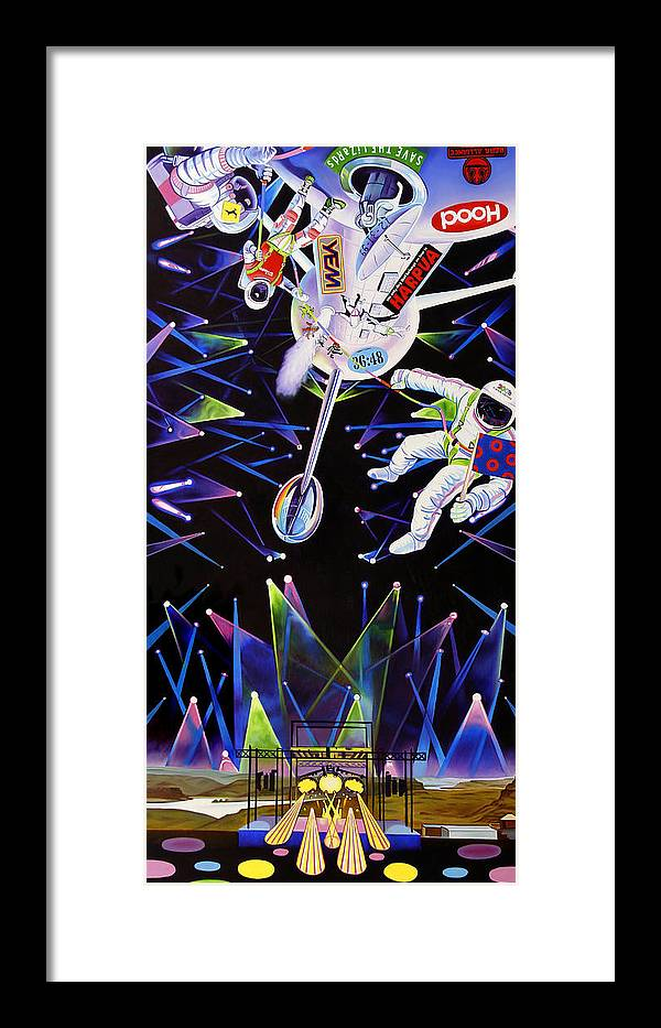 8c48040cef6 Phish-the Gorge A Space Jam Framed Print by Joshua Morton