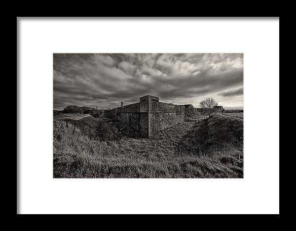 Phoenix Park Framed Print featuring the photograph Phoenix Fort Ireland by Jason Lanier