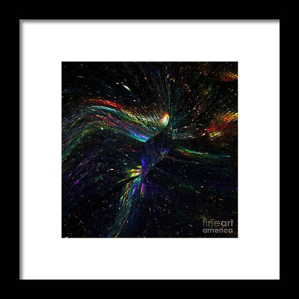 Phoenix Framed Print featuring the digital art Phoenix by Klara Acel