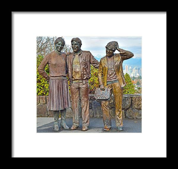 Bronze Framed Print featuring the photograph Photo Session Subjects by David Oberman