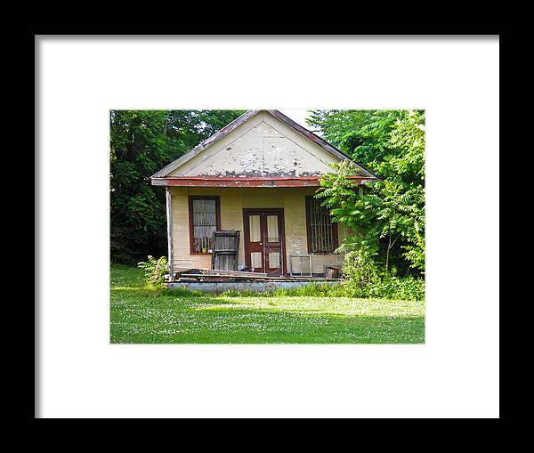 Photo Framed Print featuring the photograph Photo Studio by Nick Kirby