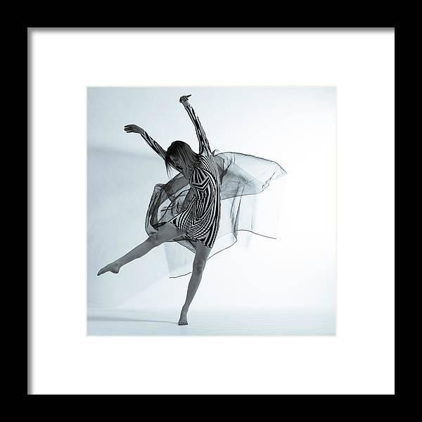Ballet Dancer Framed Print featuring the photograph Photofusion Shoot Jan 2013 by Maya De Almeida Araujo