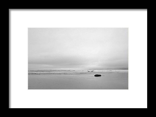 Im All Alone Now Framed Print featuring the photograph Photographer All Alone by Brian Sereda