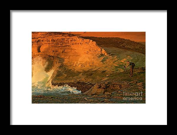 Pacific Framed Print featuring the photograph Photographers Paradise by Nick Boren