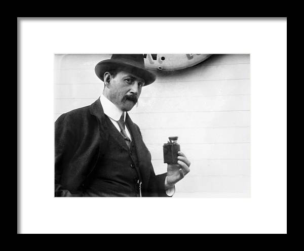 1912 Framed Print featuring the photograph Photography Camera by Granger
