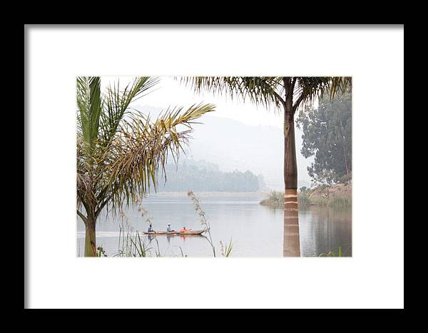 Boat Framed Print featuring the photograph Early Morning Commute by Pat Tracey