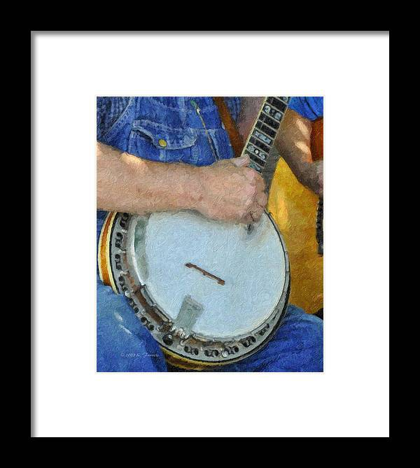 Kenny Francis Framed Print featuring the photograph Pickin' by Kenny Francis