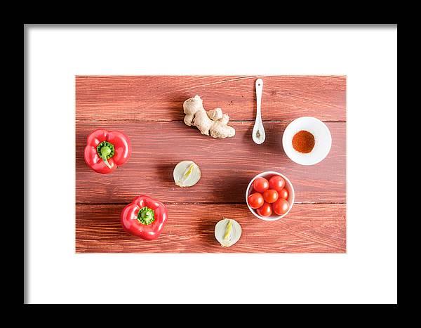 Cibo Framed Print featuring the photograph Pimiento Magic by Maurizio Incurvati