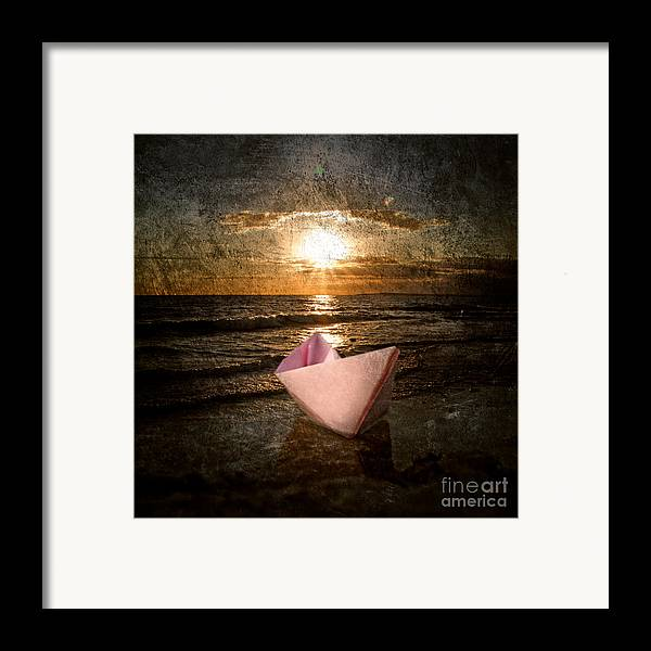 Art Framed Print featuring the photograph Pink Dreams by Stelios Kleanthous