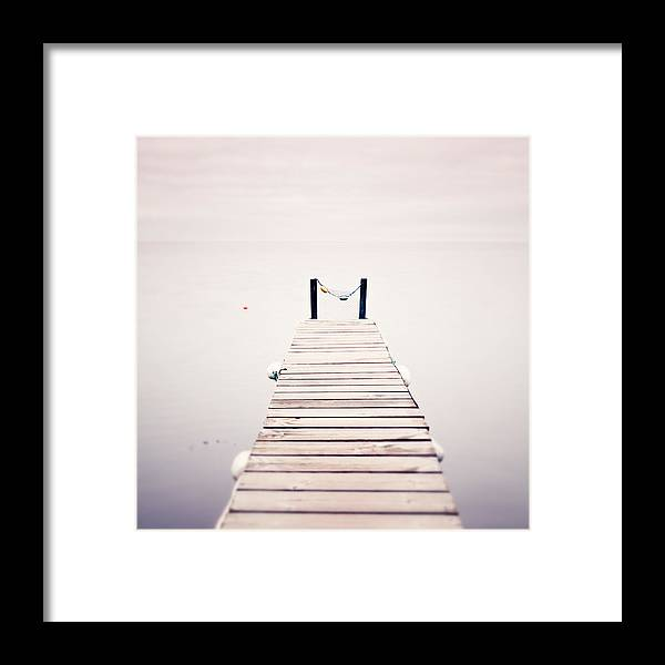 France Framed Print featuring the photograph Pink Sunrise by Maggy Morrissey