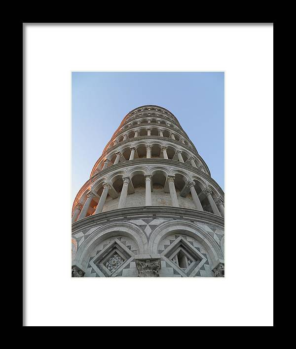 Strasbourg Framed Print featuring the photograph Pisa Leaning Tower At Sunset Tuscany by Leone M Jennarelli