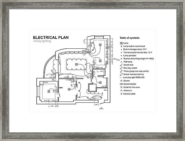 electrical plan table wiring diagram ebook Electrical Plans Drawings