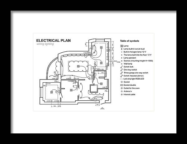 Plan Wiring Lighting. Electrical Schematic Interior. Set Of Standard on wiring diagram symbols, happy human, printed circuit board, electrical wiring blueprint, aerospace print symbols, laundry symbol, residential print symbols, industrial motor control symbols, manufacturing print symbols, ohm's law, mechanical print symbols, sheet metal print symbols, electrical amp symbol, hydraulic print symbols, piping print symbols, electrical disconnect symbol, print reading symbols, period-after-opening symbol, circuit diagram symbols, power symbol, blue print symbols, floor plan symbols, electrical network, welding print symbols, commonly used symbols, electronic circuit, hazard symbol, no symbol, communication print symbols, electronic color code, electrical blue print,