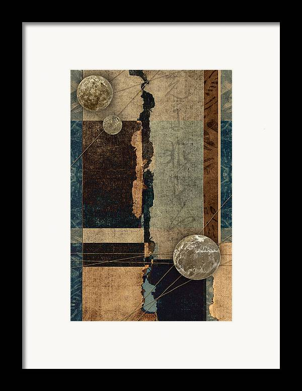 Planet Framed Print featuring the photograph Planetary Shift #1 by Carol Leigh
