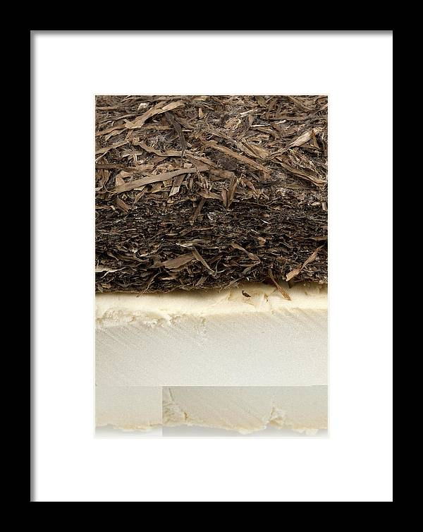 Technology Framed Print featuring the photograph Plant-based Insulating Materials by Science Photo Library