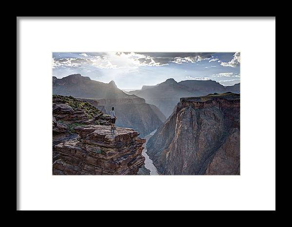 Plateau Point Framed Print featuring the photograph Plateau Point - Grand Canyon by James Capo