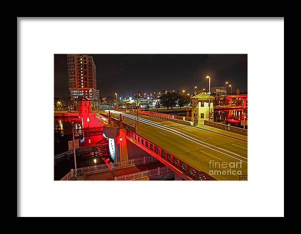 Night Framed Print featuring the photograph Platt Street Night by Erik Holte