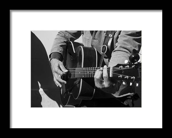 Music Framed Print featuring the photograph Play It Again by David Kay