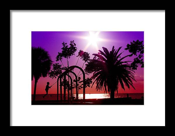 Play Framed Print featuring the photograph Playtime by Regina Williams