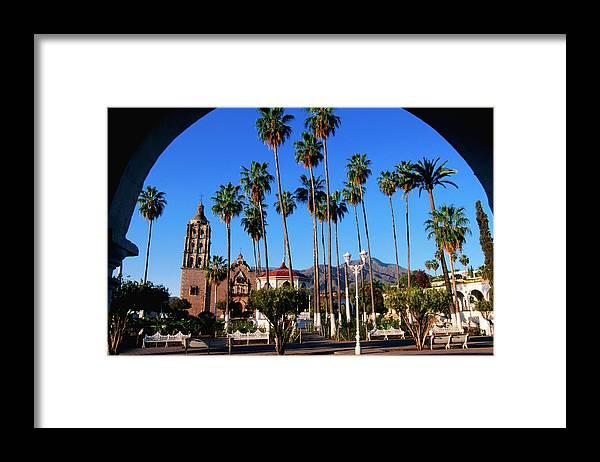 Arch Framed Print featuring the photograph Plaza De Armas by John Elk