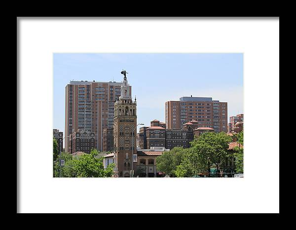 Kansas City Photos Framed Print featuring the photograph Plaza by Tinjoe Mbugus