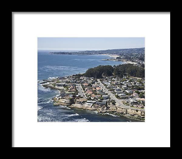 Santa Cruz Framed Print featuring the photograph Pleasure Point by Neal Martin