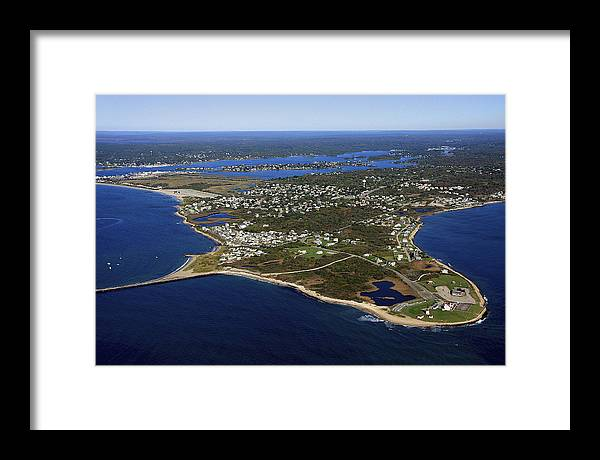 America Framed Print featuring the photograph Point Judith, Rhode Island by Dave Cleaveland