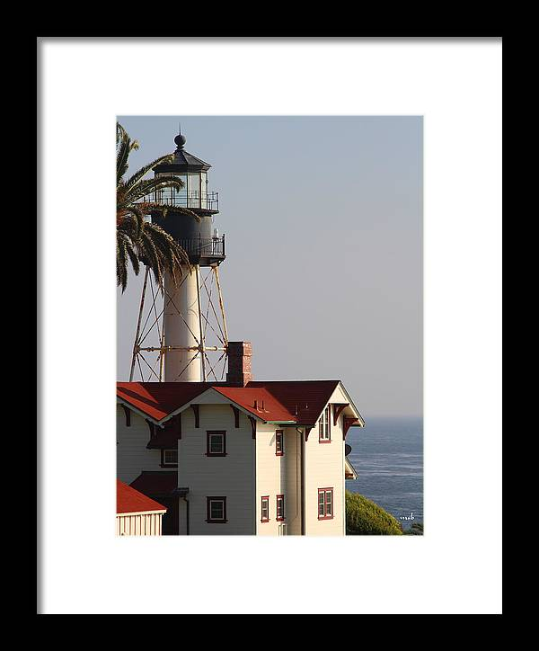 Landscape Framed Print featuring the photograph Point Loma California Lighthouse by Mark Steven Burhart