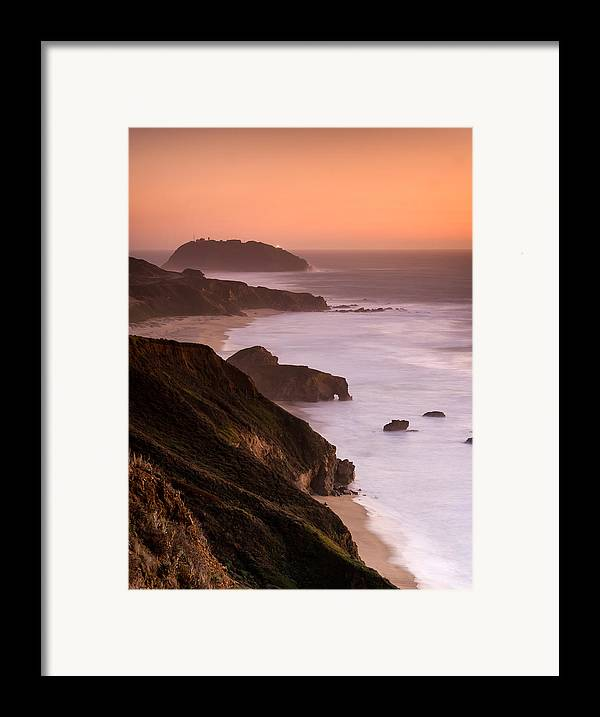 Point Sur Framed Print featuring the photograph Point Sur Lighthouse by Alexis Birkill