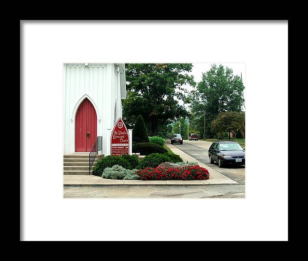 Points Of View Framed Print featuring the photograph Points Of View by Kip DeVore