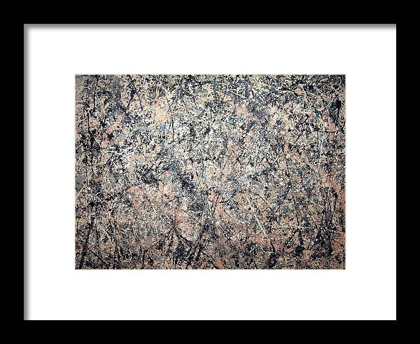 Number 1 Framed Print featuring the photograph Pollock's Number 1 -- 1950 -- Lavender Mist by Cora Wandel