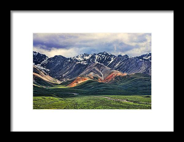 Polychrome Framed Print featuring the photograph Polychrome by Heather Applegate