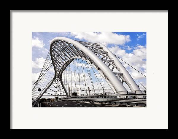 Rome Framed Print featuring the photograph Ponte Settimia Spizzichino by Fabrizio Troiani