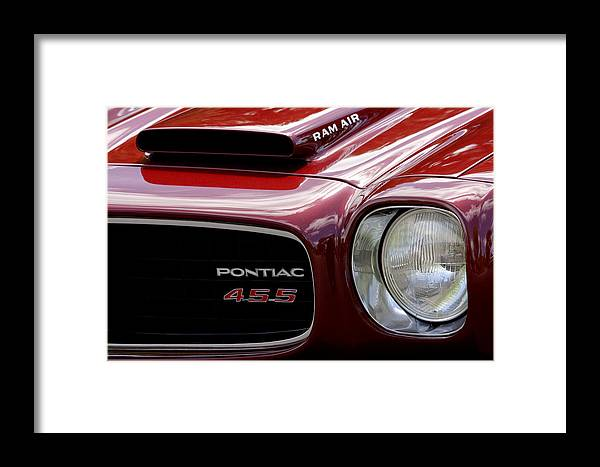 Pontiac Framed Print featuring the photograph Pontiac 455 by Wes and Dotty Weber
