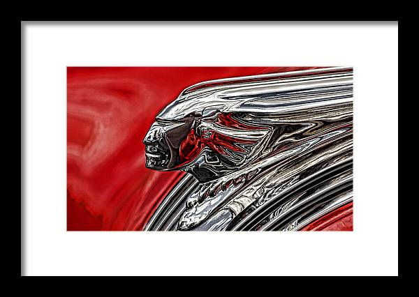 Pontiac Chief 1 Framed Print featuring the photograph Pontiac Chief 1 by Wes and Dotty Weber