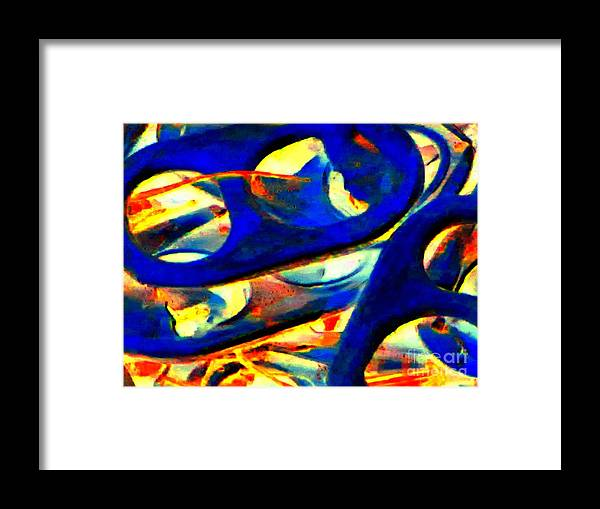 Abstract Framed Print featuring the photograph Pop Art b13 by Rrrose Pix