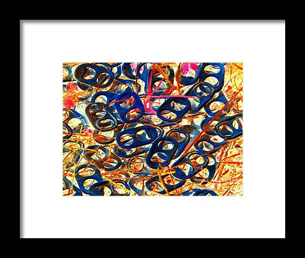 Abstract Framed Print featuring the photograph Pop Art b14 by Rrrose Pix