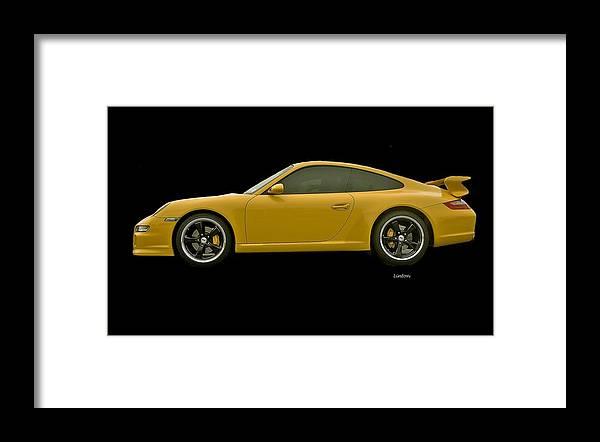 Porsche Framed Print featuring the photograph Porsche Carrera by Larry Linton