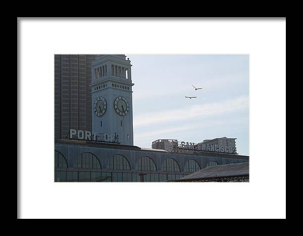 Port Framed Print featuring the photograph Port Of San Fransisco by Pretty Lilly Photography
